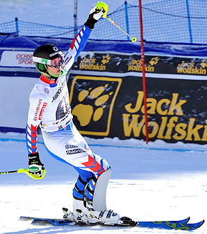 France's Alexis Pinturault beat his next competitor by 1.15 seconds.