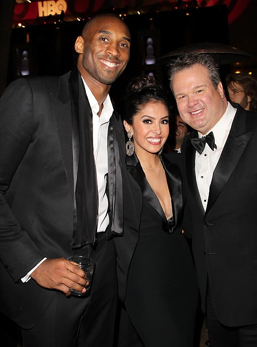 Having buried the proverbial matrimonial hatchet, Mr. and Mrs. Bryant look forward to being a modern family again. Here's the happy couple at HBO's Official Golden Globe Awards After Party at Circa 55 Restaurant at The Beverly Hilton Hotel.