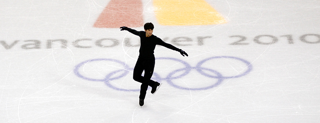 Evan Lysacek, still recovering from sports hernia surgery, not competed since the Vancouver Olympics.
