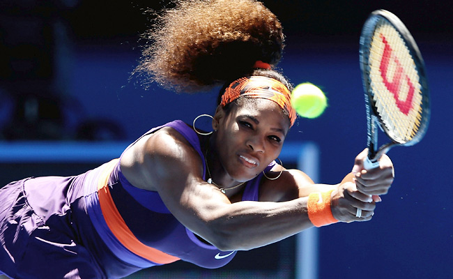 Down 3-0 in the second set, Serena Williams won the next six games to beat 72nd-ranked Ayumi Morita.