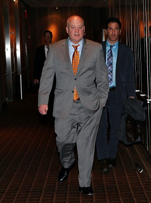 A  hard day's night: NHL Deputy Commissioner Bill Daly was a thirsty man by the time the NHL lockout finally ended.