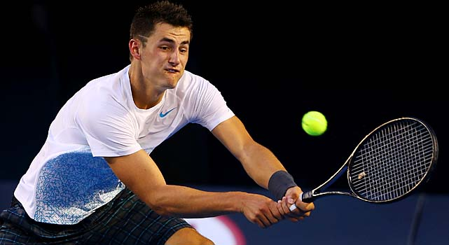Tomic, who won his first ATP title in Sydney this year, was the last Australian left in the draw.