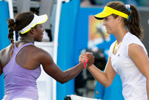 Sloane Stephens (left), 19, and Laura Robson, 18, are two of the most promising young talents on the women's tour.