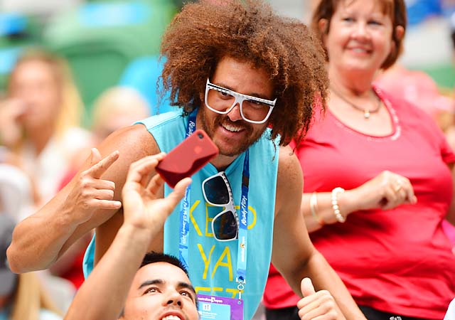 Redfoo, formerly of LMFAO, has been romantically linked to No. 1 Victoria Azarenka