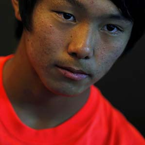 Lee Duck-hee was eliminated in the second round of the Australian Open boys tournament.