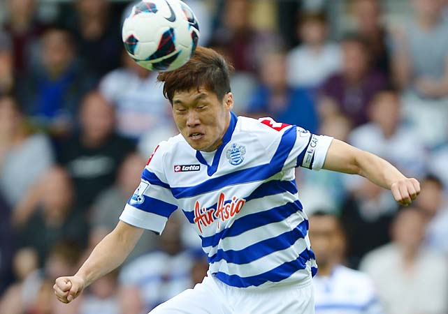 Park Ji-sung received verbal racial abuse from an Everton fan in a match on Oct. 21