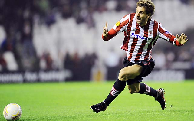 Spanish national team striker Fernando Llorente has been with Athletic Bilbao since 2005.