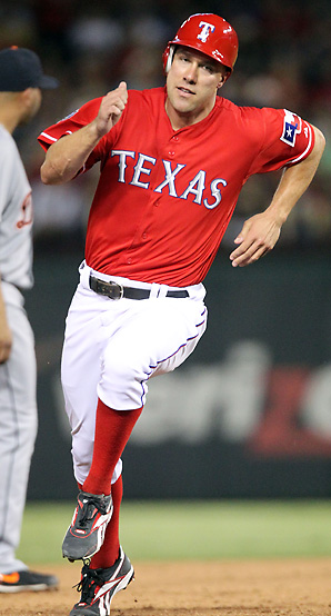 David Murphy finished 2012 with a .304 average, 15 home runs and 61 RBI in 457 at-bats last season.
