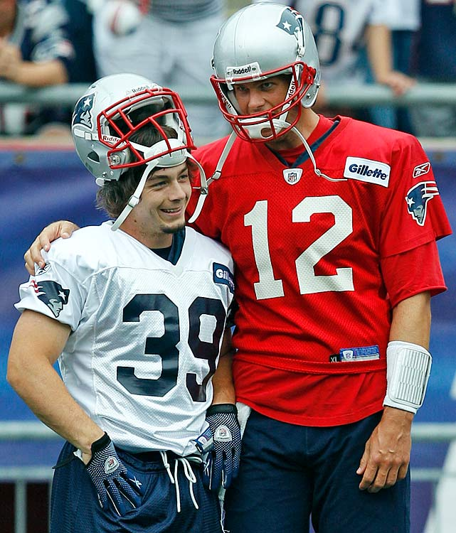 "In the last of Brady's memorable dustups with Gang Green, the quarterback took some added satisfaction in the success of Danny Woodhead because the running back had been released by the Jets prior to joining the Patriots. ""We saw him [his first week] in practice, what he was capable of doing, and said, 'Why did the Jets release that guy?'"" Brady said after Woodhead scored two touchdowns against the Bills on Nov. 11, 2012. ""They had him playing receiver, and he was a running back in college."""