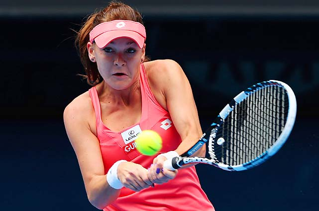 Radwanska was trying to make her first Australian Open semifinal after three previous quarterfinal trips.
