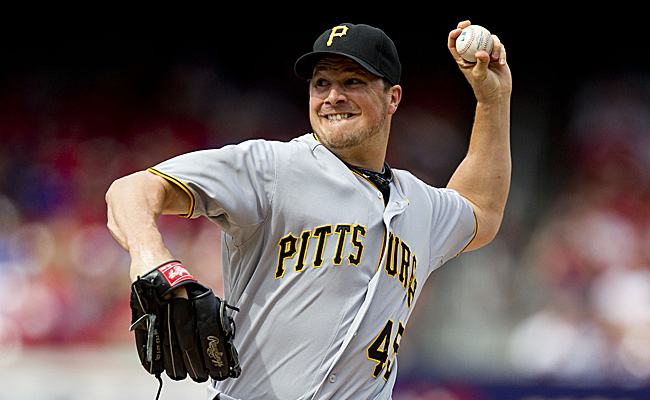 Erik Bedard went 7-14 with a 5.01 ERA last season before the Pirates released him on Aug. 28