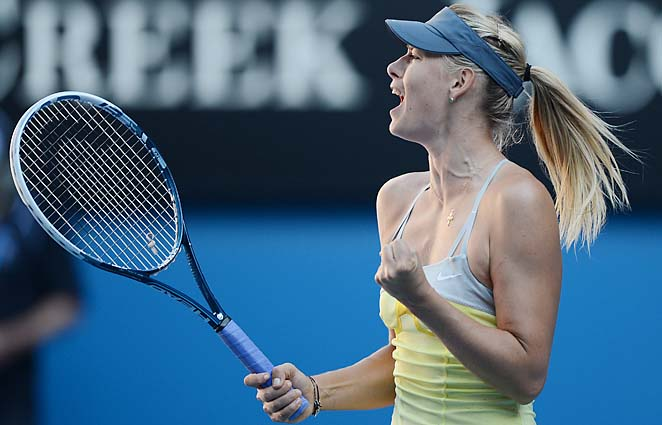 No. 2 Maria Sharapova will play No. 6 Li Na in the Australian Open semifinals on Thursday.