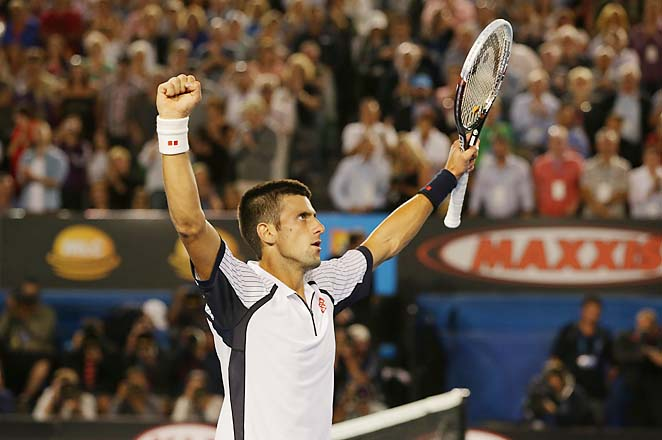 No. 1 Novak Djokovic is gunning for an Open era record third straight Australian Open title.