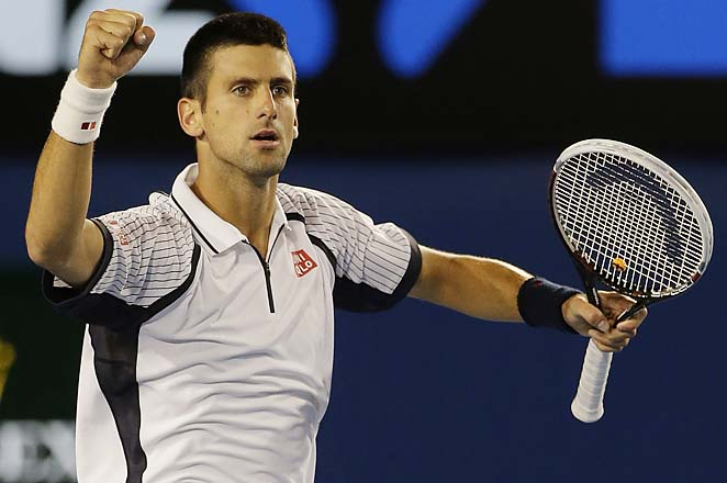 Novak Djokovic will face No. 4 David Ferrer in the semifinals as he eyes a third straight Aussie title.