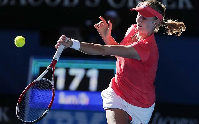 Makarova matched her deepest run at a major. She also reached the 2012 Australian Open quarterfinals.