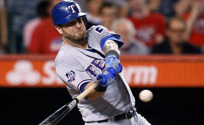 Mike Napoli hit .227 last year with 24 homers and 56 RBIs and was chosen for his first All-Star game.