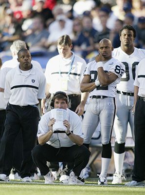 Bill Callahan's Raiders lost 48-21 to the Buccaneers in Super Bowl XXXVII.
