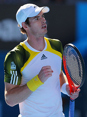 Andy Murray cruised to a 6-4, 6-1, 6-2 win over unseeded Jeremy Chardy of France.