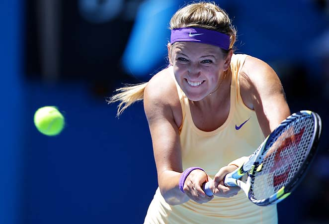 No. 1 Victoria Azarenka will face No. 29 Sloane Stephens in the semifinals on Thursday in Melbourne.