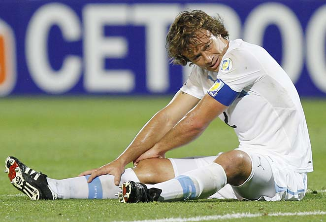 Diego Lugano was captain of Uruguay for its run into the 2010 World Cup knockout round.