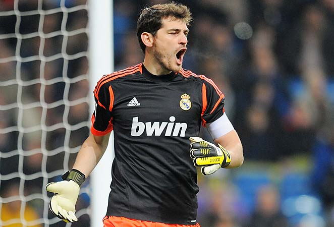 Iker Casillas and Real Madrid trail Barcelona and Atletico Madrid in La Liga.