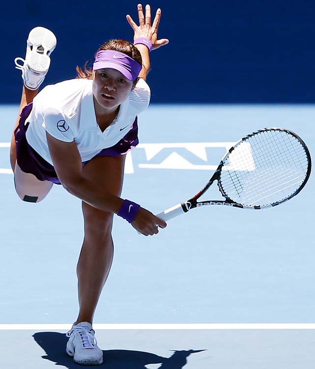 Li advanced to the Australian Open final for the second time in three years.