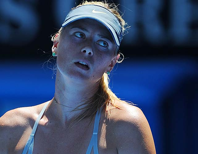 Sharapova had lost nine games over five matches coming into the semifinal.