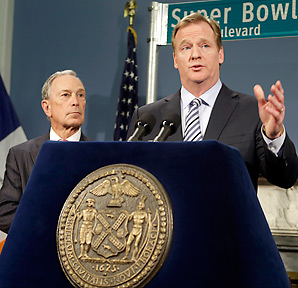 Super Bowl XLVIII will take place on February 2, 2014.