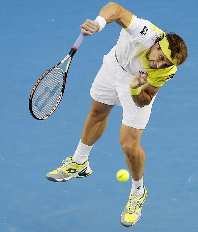 Ferrer has yet to break through and reach a Grand Slam final.