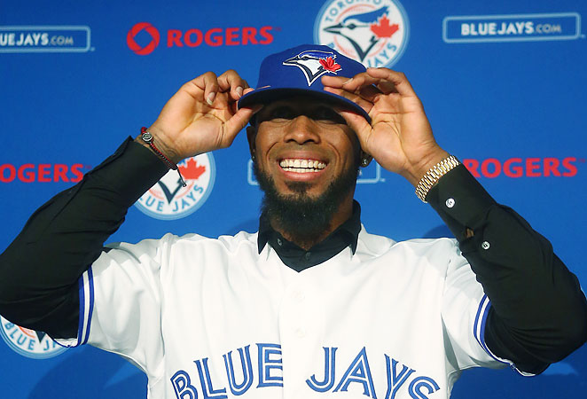 After staying healthy last season, new Blue Jay Jose Reyes looks like the top shortstop in fantasy.