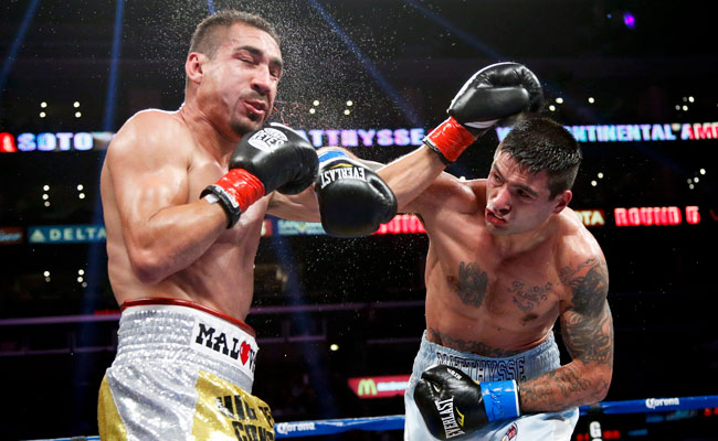 Lucas Matthysse knocked out Humberto Soto in the 12th round in June 2012.