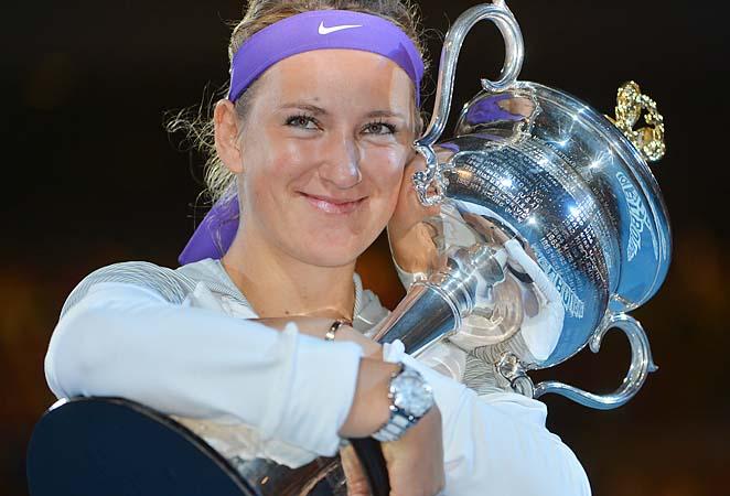 Victoria Azarenka retained her No. 1 ranking by winning a second straight Australian Open.