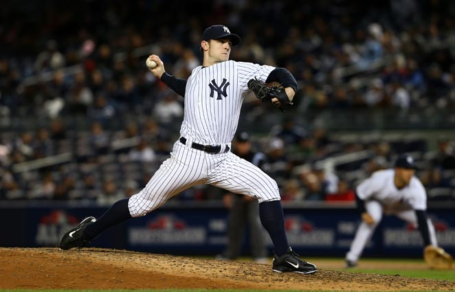 David Robertson went 2-7 with a 2.67 ERA during an injury-filled season last year.