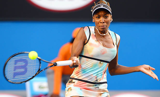 Venus Williams hasn't made it past the fourth round of a Grand Slam event since 2010.