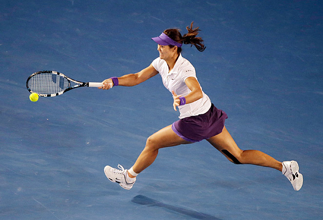 Li Na fell to Victoria Azarenka in the Australian Open final.