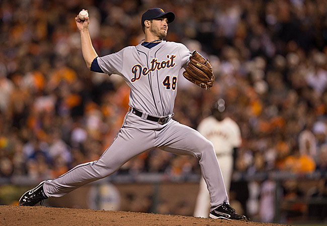 Rick Porcello went 10-12 with a 4.59 ERA in 31 starts for the Tigers in 2012.