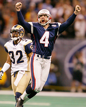 The last Super Bowl held in New Orleans, won for the Patriots by Adam Vinatieri's field goal, was a rare competitive one in the Crescent City.