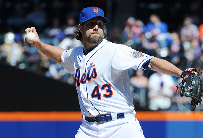 R.A. Dickey's increased use of the knuckleball since the 2010 season has made him an elite pitcher.