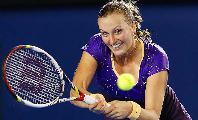 Petra Kvitova was upset in the second round of the Australian Open by Laura Robson.