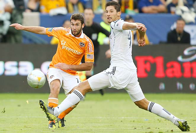 MLS Cup MVP Omar Gonzalez (right) may get his chance to impress Jurgen Klinsmann on Tuesday.