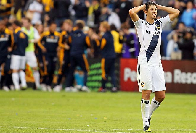 Omar Gonzalez scored one of three Galaxy goals in December's MLS Cup final against Houston.