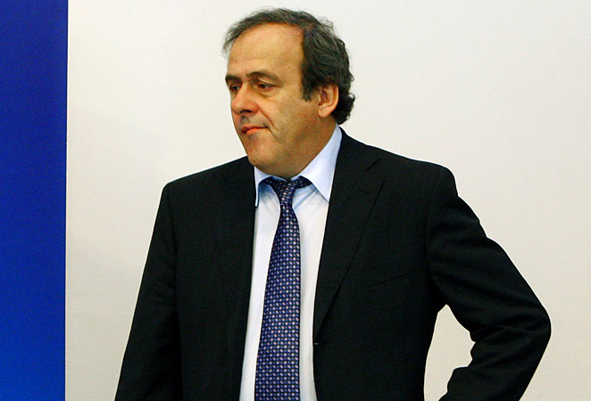 "Michel Platini: ""I reserve the right to sue anyone who questions my integrity in this vote.''"
