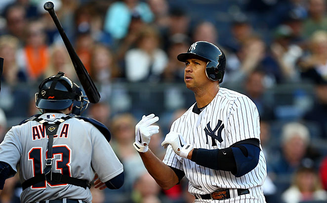 Alex Rodriguez previously admitted using PEDs in 2009 but said he only used from 2001-03 while with the Rangers.
