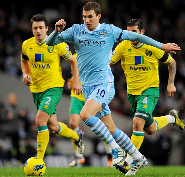 When Manchester City opened up its pocketbook and shelled out �27 million for Edin Dzeko, the Bosnian striker was heralded as being the catalyst that the Sky Blues needed for their title push. It wasn't, as Manchester City finished third. In the two years that have followed his signing, Dzeko has had his ups and downs at City, but Dzeko's 90th-minute goal in May 2012 against QPR may have made it all worth it -- if only because of Sergio Aguero's follow-up minutes later.
