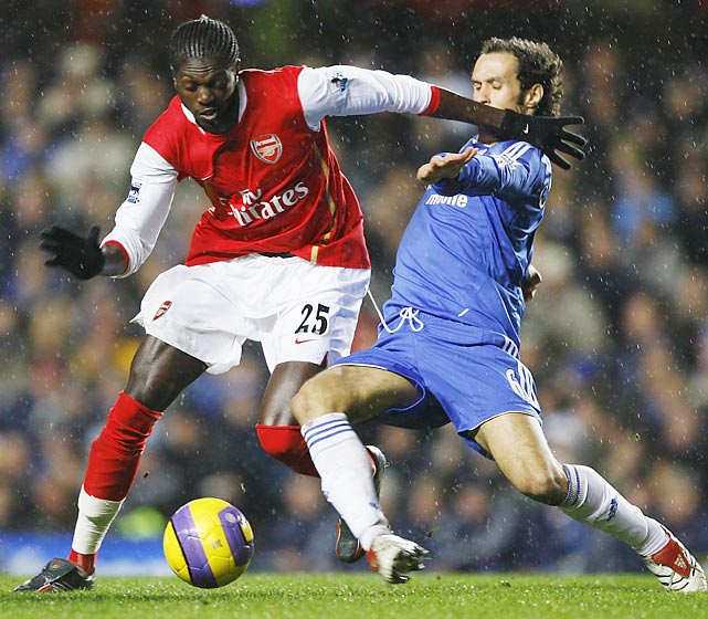 Although Arsenal fans may now hate current Spurs frontman Emmanuel Adebayor, they cannot deny that he was an effective signing. In his second season with the Gunners, Adebayor exploded for 24 goals. A year later he was then sent to Manchester City, with the Gunners making a hefty profit in the process.