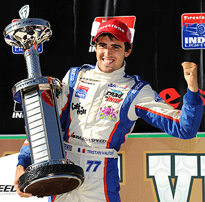 Tristan Vautier will team with Simon Pagenaud at Schmidt Peterson Motorsports.
