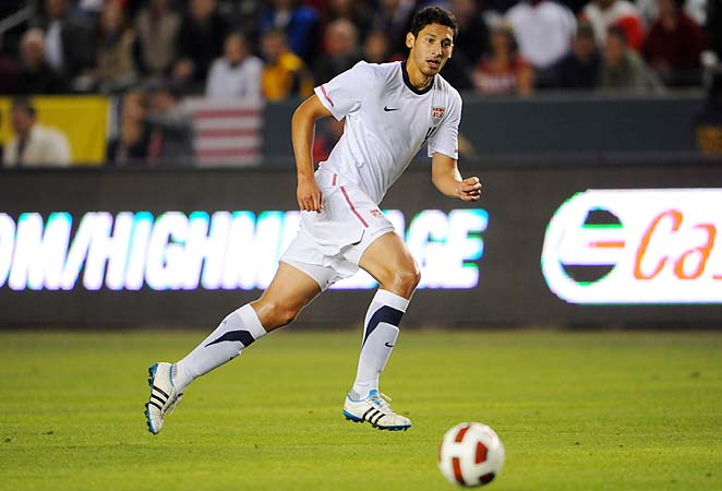 Omar Gonzalez is back on the U.S. national team after tearing an ACL last year.