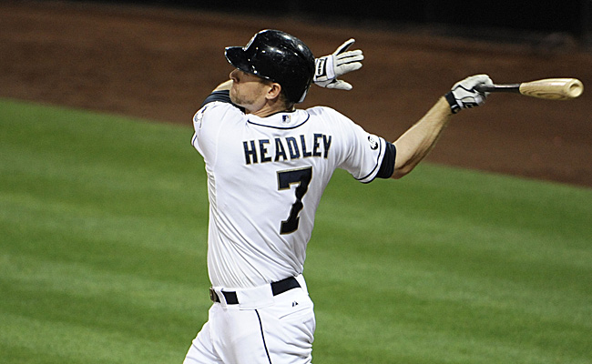 Chase Headley finished fifth in MVP voting while winning a Gold Glove and a Silver Slugger award.