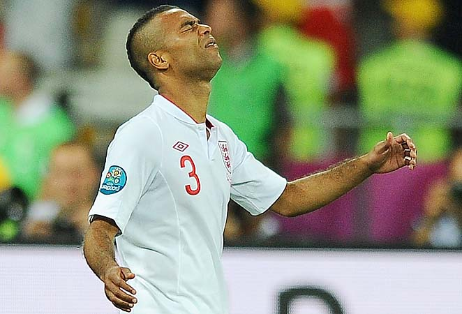 Ashley Cole has earned 105 caps for the England national team. The 106th will not come on Friday.