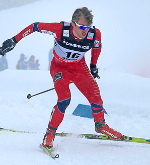 Norway's Petter Northug locked up his fourth victory of the season at the Sochi Olympic course.